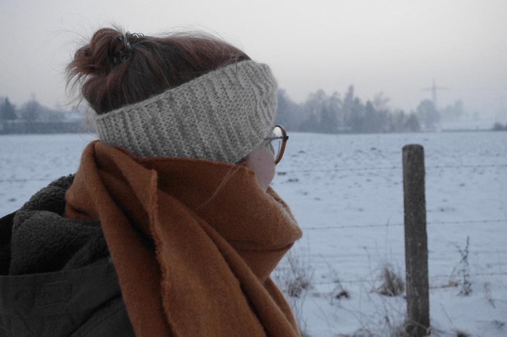 Gerade an den frostigen Wintertagen der letzen Wochen war ich sehr froh über mein Stirnband.